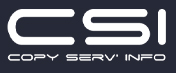 CSI Copy Serv Info
